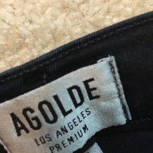 A Gold E jeans. Size 29. Dark blue wash.